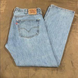 Men's Vintage Levi's 501 Jeans 38 38x32